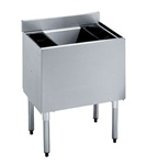 "Krowne UnderBar Ice Bin - 24"" Wide 80 Lb Capacity With Cold Plate, (18-24-7)"