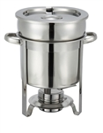 Winco 7-Quart Stainless Steel Soup Warmer, (207)