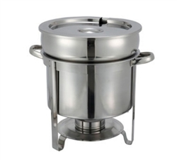 Winco 11-Quart Stainless Steel Soup Warmer, (211)