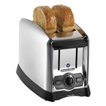Proctor-Silex 2 Slice Commercial Toaster with 1-1/2 Inch Wide Slots, 120V, 1000W (Hamilton Beach 22850)