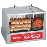 Hot Dog Steamer 35ssc