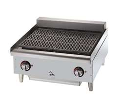 "Star-Max 5124CF Electric Charbroiler - 24"" Width"