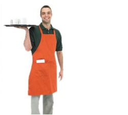 BVT Chef Revival 601BAC Bib Apron With Side Pocket