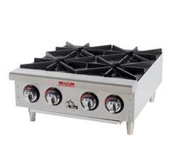 Star-Max (4) Burners Countertop Gas Hotplate, (604HF)