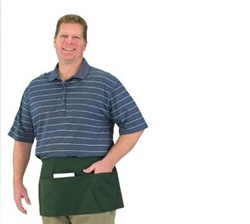 BVT Chef Revival Waist Apron Front Of House With 3 Pockets, (605WAFH)