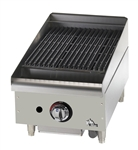 "Star-Max 6115RCBF 15"" Natural Gas Radiant Charbroiler - 40,000 BTU"