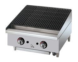 Star 6124RCBF Natural Gas Radiant Charbroiler