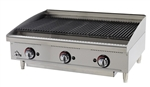 "Star-Max 6136RCBF 36"" Natural Gas Radiant Charbroiler - 120,000 BTU"