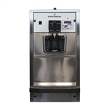 40 Qts. per hr - Soft Serve Ice Cream Machine Single Flavor Countertop with Hopper Agitator 208-230 Vac, 12 Amps (Spaceman 6236H)