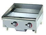 Star-Max 24-inch Chrome Gas Griddle, (624TCHSF)