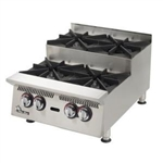 Star Ultra-Max (2) Burners Gas Step-Up Hotplate, (802HA-SU)