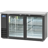"Arctic Air 61"" Wide Back Bar Refrigerator - 2 Glass Doors (ABB60G)"