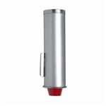 Dispense-Rite Stainless Steel In-Counter Adjustable Beverage Cup Dispenser, 8-oz to 44-oz Cup Size Capacity (ADJ-2)