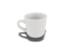 Crestware Cup, 7 oz., tall, ceramic, Alpine White, (AL11)