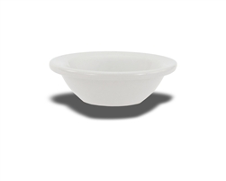"Crestware Fruit Dish, 4 oz., 4-5/8"", narrow rim, ceramic, Alphine White, (AL31)"