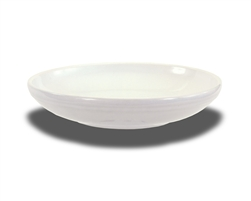 "Crestware Rim Soup Bowl, 15 oz., 10-1/2"", ceramic, Alphine White, (AL39)"