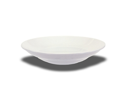 "Crestware Salad/Pasta Bowl, 9-5/8"", narrow rim, ceramic, Alphine White, (AL47)"