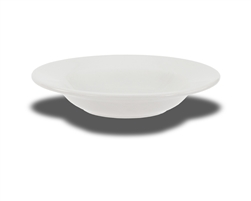 "Crestware Rim Soup Bowl, 12 oz., 9"", ceramic, Alphine White, (AL61)"