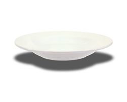"Crestware Rim Soup Bowl, 15 oz., 11-1/2"", ceramic, Alphine White, (AL62)"