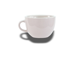 Crestware Low Cup, 8 oz., ceramic, Alphine White, (ALR11)