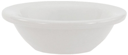 "Crestware Fruit Bowl, 4 oz., 4-5/8"", wide rim, ceramic, Alphine White, (ALR31)"