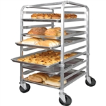 Winco 10 Tier Heavy Duty Aluminum Sheet Pan Rack, (ALRK-10)