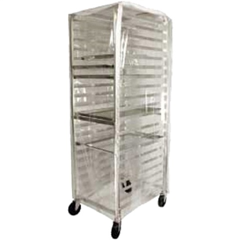 Winco 20 Tier Aluminum Rack Cover, (ALRK-20-CV)