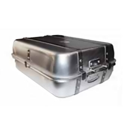 ​Winco Aluminum Double Roast Pan Combination