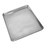 "Two-Third Size 16"" x 22"" Sheet Pan 20-Gauge Aluminum (Thunder Group ALSP1622)"