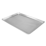 "Perforated Half-Size 18"" x 13"" Sheet Pan 20-Gauge Aluminum (Thunder Group ALSP1813PF)"