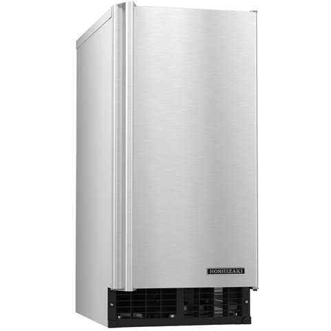 55 Lb Undercounter Top Hat Ice Maker with 22 lb Storage Bin - Air Cooled - (Hoshizaki AM-50BAJ-AD)