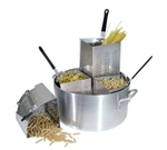 Winco Pasta Cooker Set with (4) Insets - 20 Qt., (APS-20)