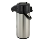 Winco Vacuum Server 3.0 Liter, Push Button, Stainless Steel Liner, (APSP-930)