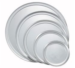 "Winco Pizza Tray (Wide Rim) Aluminum - 17"", (APZT-17)"