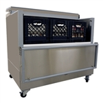 Norlake Open Front Milk Cooler, (12) Case Capacity, (AR122WVS/0)