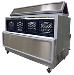 Norlake Dual Access Milk Cooler, (12) Case Capacity, (AR124SSS/0)