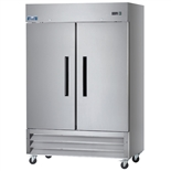 "Arctic Air AR49 2-Door Reach-In Refrigerator - 54"" Wide"
