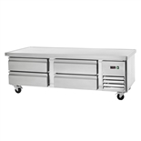 Refrigerated 72 Inch Wide Chef Base Equipment Stand (Arctic Air ARCB72)