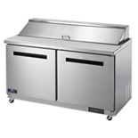 2-Door Sandwich / Salad Food Food Prep Table Refrigerator - 60 Inches Wide (Arctic Air AST60R)