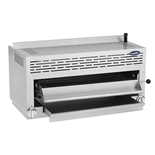 36 Inch Wide Salamander Broiler with (2) Infrared Burners - Natural Gas - (Atosa CookRite ATSB-36)
