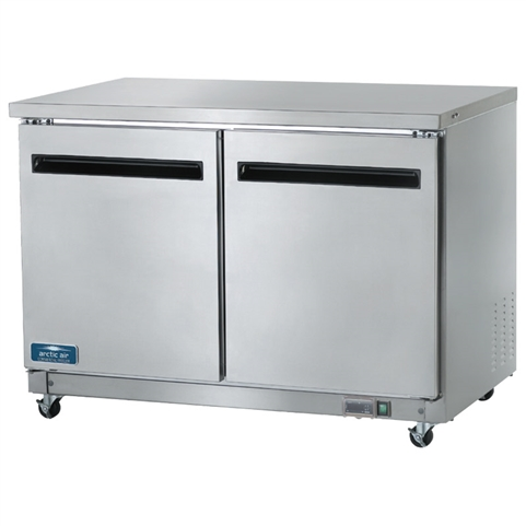 2-Door Undercounter Refrigerator 48 Inch Wide 12 Cu. Ft. Capacity (Arctic Air AUC48R)