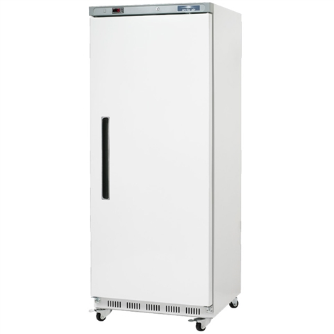 1-Door Commercial 25 Cu. Ft. Reach-in Freezer with White Painted Exterior (Arctic Air AWF25)