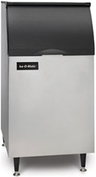 ICE-O-Matic 351-lb Capacity Ice Storage Bin, For use with Top-Mounted Ice Machines, (B42PS)