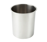 Winco BAM-12 Stainless Steel Bain Marie Pot - 12 Qt.