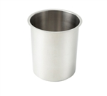 Winco BAM-6 Stainless Steel Bain Marie Pot - 6 Qt.