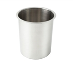 Winco BAM-8.25 Stainless Steel Bain Marie Pot - 8.25 Qt.