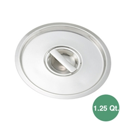 Winco BAMC-1.25 Bain Marie Pot Lid for 1.25 Qt. Pot