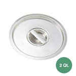 Winco BAMC-2 Bain Marie Pot Lid for 2 Qt. Pot