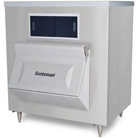 Scotsman 1100 Lb Capacity Ice Storage Bin - For use with Top-Mounted Ice Machines, (BH1100SS-A)