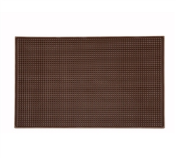 "Winco Service Mats - Brown - 18"" X 12"", (BM-1812B)"